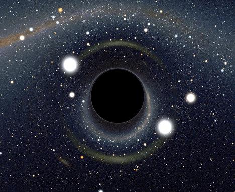 """Gaura neagră din Calea Lactee """"găteşte"""" gaz cald"""