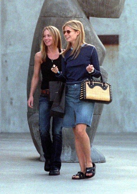 Gwyneth la cumpărături cu Christina Applegate