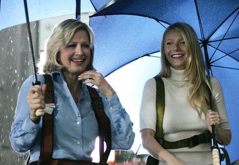 Gwyneth și Diane Sawyer