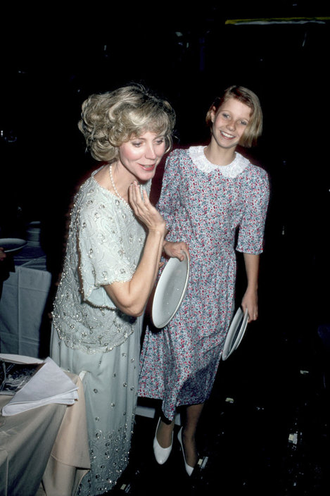 Gwyneth și mama ei, Blythe Danner.