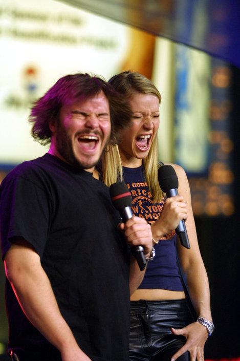 Gwyneth și Jack Black
