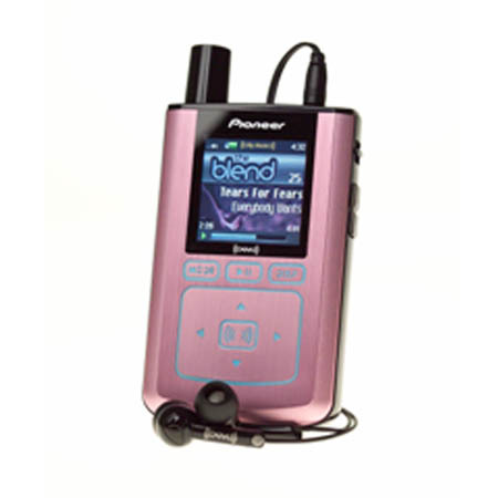 XM Radio Pink Pioneer Inno
