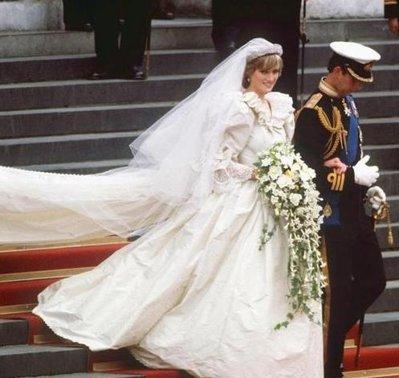Rochia de mireasa a Printesei Diana