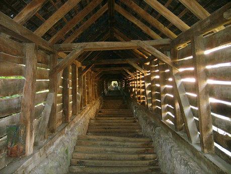 Scara acoperita din Sighisoara