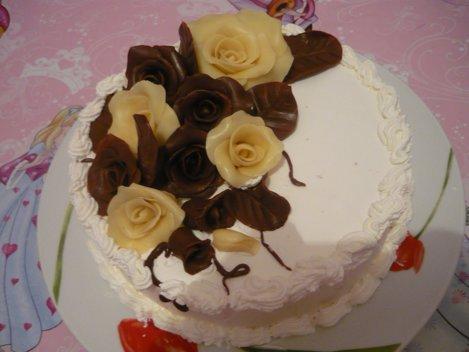 tort ciocolata alba si neagra