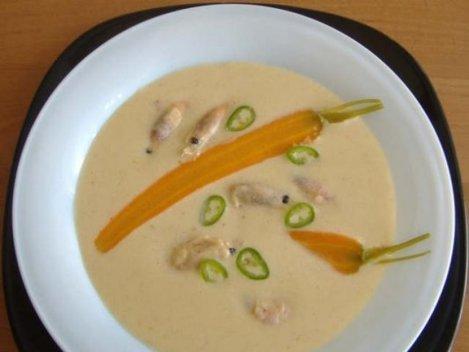 supa crema picanta creveti