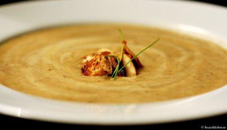 supa crema ciuperci
