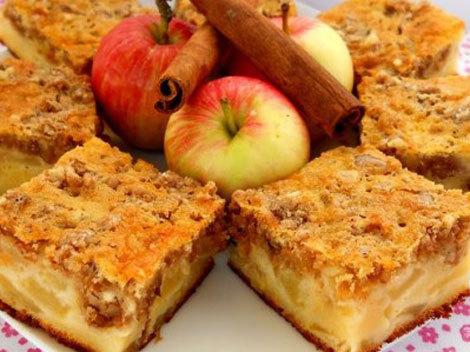 13 reţete prăjitură cu mere