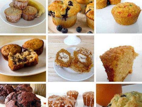 12 reţete de muffins (brioşe)
