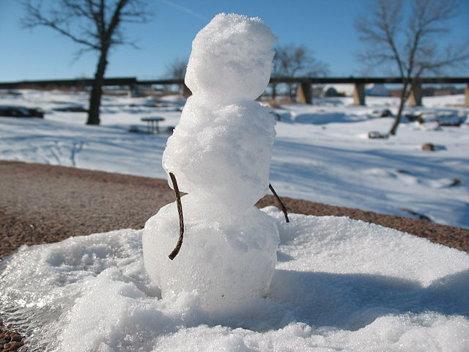Vis om de zăpadă. Ce înseamnă când visezi om de zăpadă