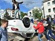 Ambasada Rusiei de la Kiev, luată cu asalt de sute de protestatari!