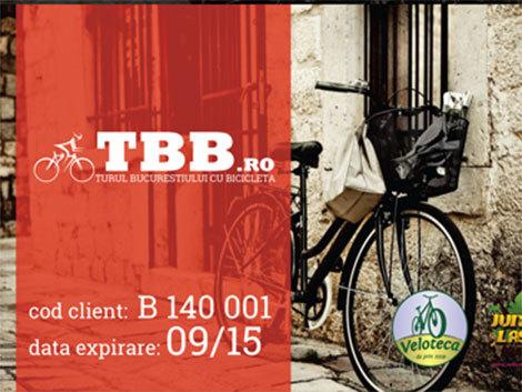 Card special pentru biciclişti, în Bucureşti