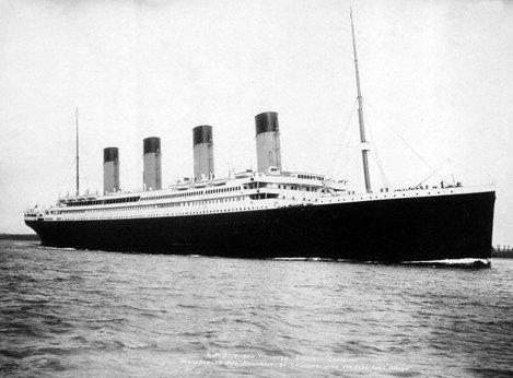 Cum s-a construit Titanicul (Poze)