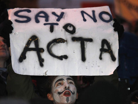 Romania a semnat ACTA, Anonymous reactioneaza