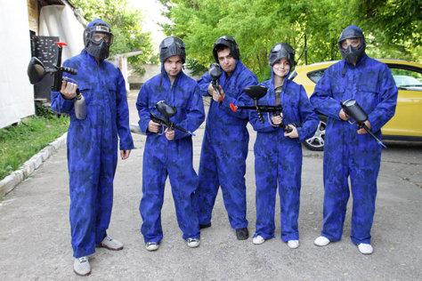 Echipa albastrilor