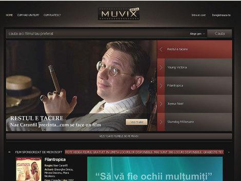 Muvix.ro, site-ul unde poti urmari legal filmele tale preferate!