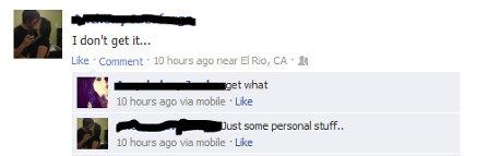 Postările ambiguee de pe Facebook
