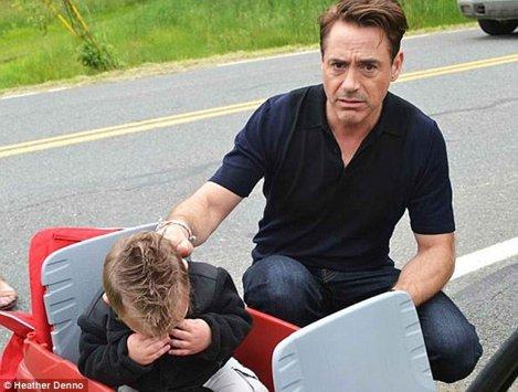 Downey Jr si Jaxson