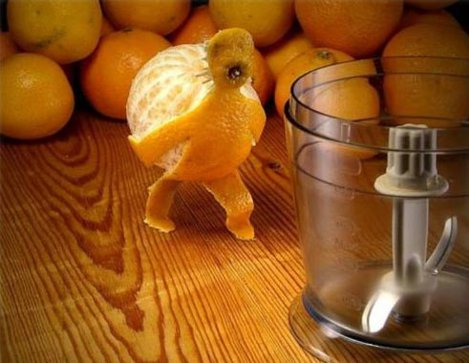 Arta comestibila: fructe cu forme haioase (Poze)