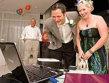 Au facut nunta online, din cauza eruptiei vulcanului islandez
