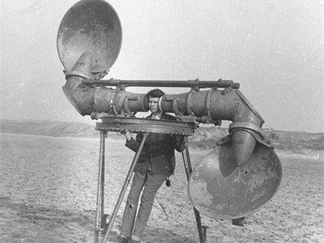 Inainte de radar, a fost urechea (Poze)