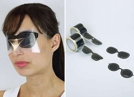 Ochelarii sticker