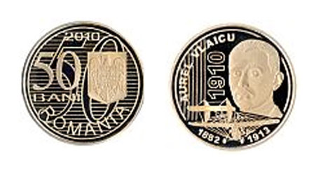 moneda aurel vlaicu