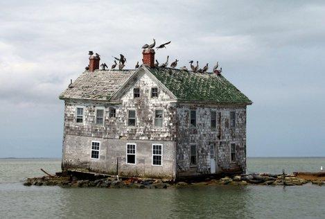 Holland Island în Golful Chesapeake