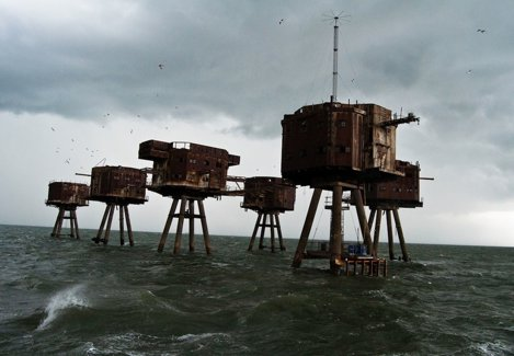 Forturile Mării Maunsell din Anglia
