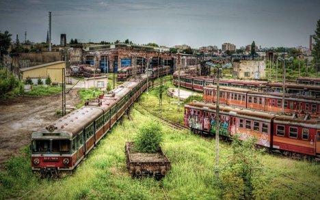 CzĂ™stochowa, depou de tren abandonat în Polonia
