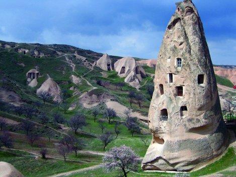 Case peşteră, Cappadocia, Turcia