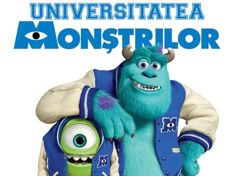 """Înscrie-te la """"Universitatea Monştrilor""""!"""