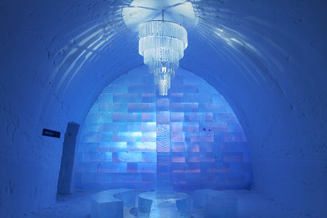 Hotelul de gheață din Jukkasjärvi