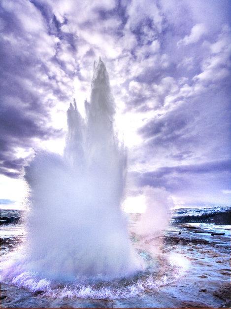 Stokkur, cel mai mare gheizer din Islanda