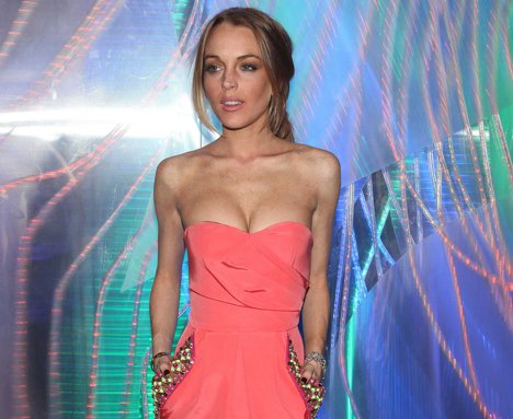 "Lindsay Lohan, noua silueta ""biscuit"" de la Hollywood"