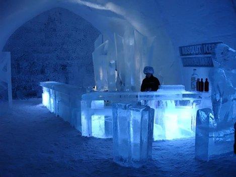 Hotelul de gheata din Suedia, deschis cu o luna mai devreme