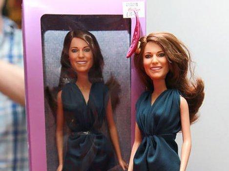 "Papusa ""Kate Middleton"", de vanzare in editie limitata"