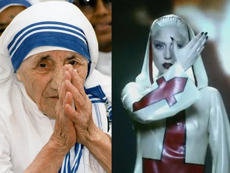 Ce au in comun Lady Gaga si Maica Tereza?