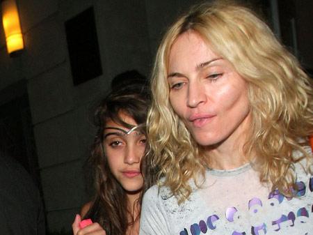 Madonna s-a transformat in