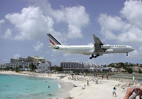 Aeroportul International Princess Juliana - Simpson Bay, Saint Maarten