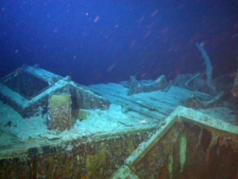 200 de tone de argint, descoperite pe fundul Atlanticului