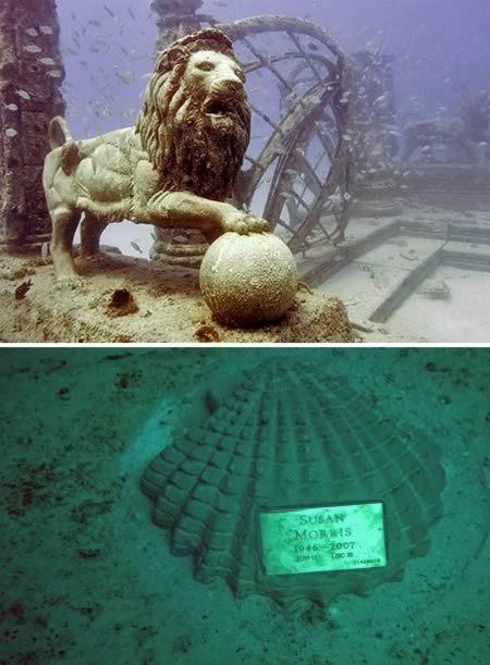 Cimitirul acvatic din Miami