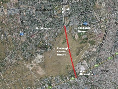 Cartierele Drumul Taberei şi Rahova, legate printr-un bulevard nou