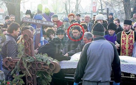 Paul Tecuceanu, la inmormantarea fratelui Toni