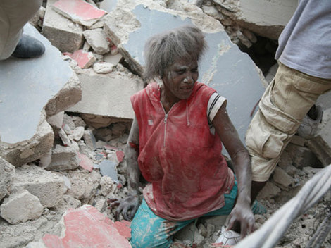 Pe 12 ianuarie 2010, in Haiti parca a fost sfarsitul lumii!