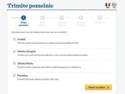 pomelnic online