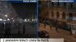 Doua proteste: unul pasnic iar altul extrem de violent!