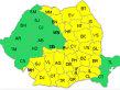 Meteorologii anunţă cod galben de ploi şi ninsori în aproape toată ţara