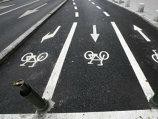Pista pentru biciclete de pe Calea Victoriei a fost deschisă!