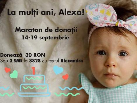 Împreună o salvăm pe Alexa!